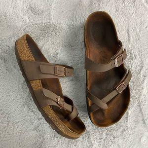 Birkenstock Mayari Mocha Thong Sandal Size 39